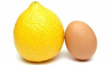 lemon egg white facial mask