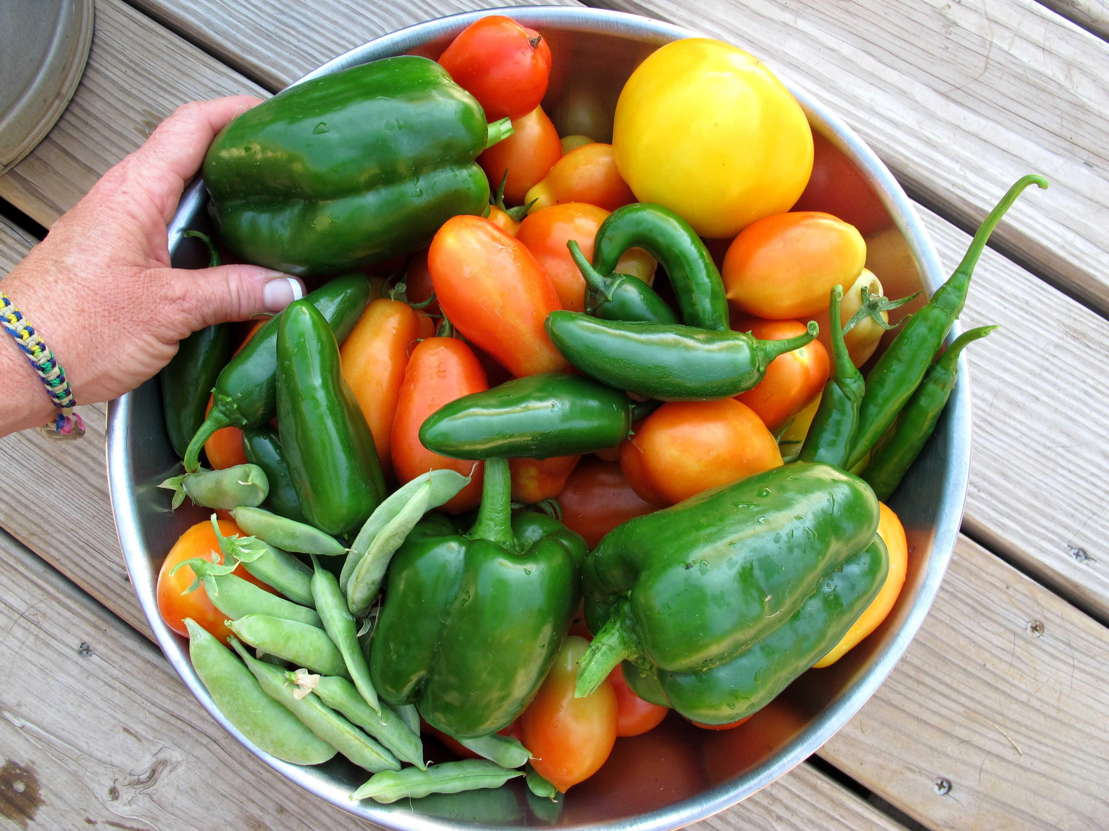 eat veggies and fruits