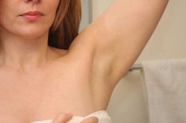 lightens underarms