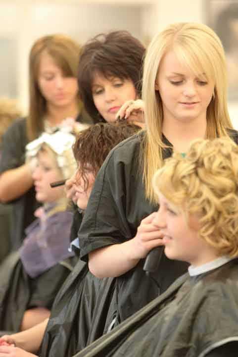 training period to beauty school