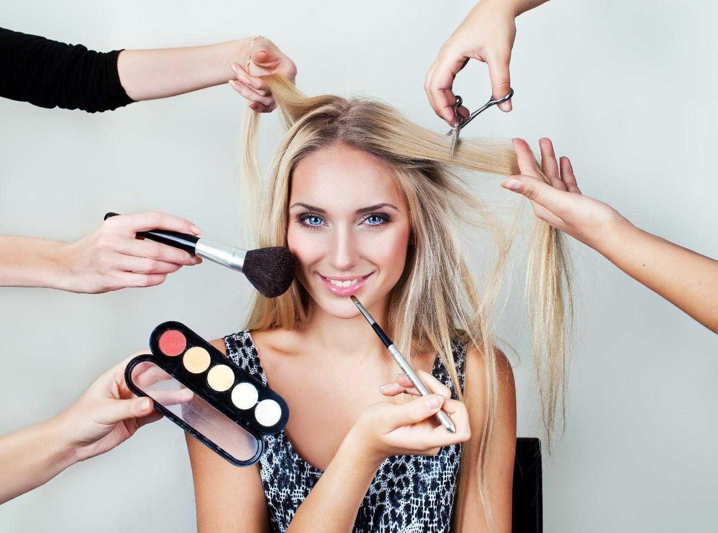 beauty school techniques