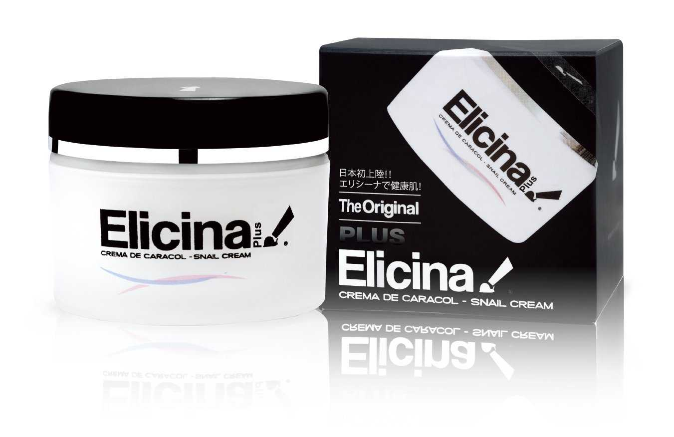 Elicina PLUS Crema de Caracol Snail Cream with Moisturizer