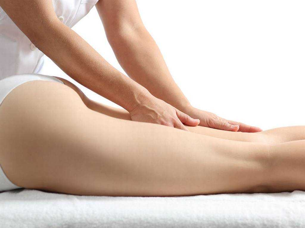 Massage de la cellulite